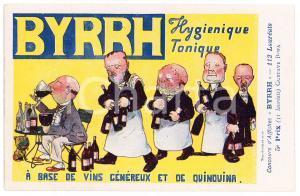 1910ca BYRRH Tonique hygienique - Illustration by Gustave BOFA Carte Postale FP
