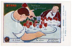 1910ca BYRRH Tonique hygienique - Illustration by Louis BAEYENS Carte Postale FP