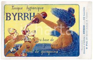 1910ca BYRRH Tonique hygienique Illustration by A. CADIOU Carte Postale FP NV