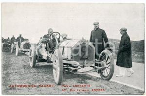 1910 ca ANVERS AUTOMOBILES NAGANT - Paul LENAERTS - Course *Carte postale ANIMEE