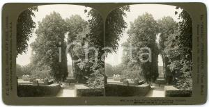 1903 Castle FREDERIKSBORG (DENMARK) In the Royal Park - Stereoview WHITE