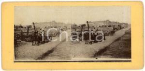 1910 ca LIEGE (BELGIQUE) Ouvriers sur les quais - ANIMATED Stereoview