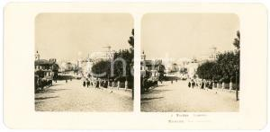1906 MOSCOW (RUSSIA) Rue Snamenka - Stereoview STEGLITZ-BERLIN ANIMATED