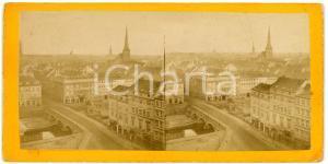 1910 ca LIEGE (?) BELGIQUE Vue de la ville - Old stereoview