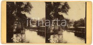 1910 ca LIEGE (BELGIQUE) Jardin botanique - Old stereoview