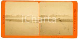 1905 ca OSTENDE (BELGIQUE) Vue générale - Vintage Stereoview