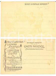 1905 ca FRANCE - AMARA BLANQUI Où est la famille Humbert - Carte postale CPA