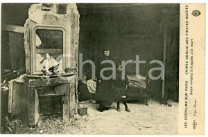 1917 WW1 Zeppelin sur Paris - Crimes pirates boches - Enfants échappés à la mort