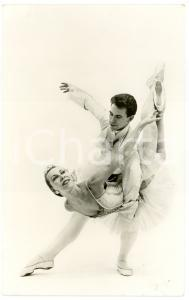 1950 ca NEDERLANDS DANS THEATER Willy DE LA BYE Jaap FLIER Foto seriale 9x14 cm