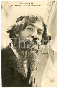 1900 ca LA NORMANDIE Merovack - L'homme des Cathédrales - Carte postale FP NV