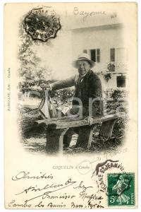 1909 CAMBO-LES-BAINS (FRANCE) Acteur COQUELIN - Carte postale ancienne CPA