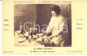 1910 ca LYON Rue Duquesne - Restaurant FILLIOUX  - Carte postale CPA