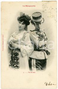 1903 COUPLE DE FEMME - LA MARGUERITE n.5 - Pas du tout - Carte postale FP VG