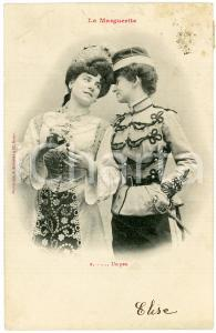 1903 COUPLE DE FEMME - LA MARGUERITE n.2 - Un peu - Carte postale FP VG