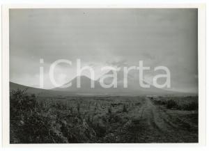 1949 Frontière RUANDA-UGANDA - Volcans MUHAVURA et GAHINGA - Photo J. MULDERS