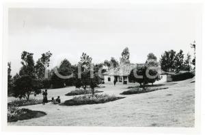 1949 RUANDA Maison chef indigène RUKEMAMPUNZI - REMERA - Photo J. MULDERS 18x12