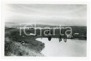 1918 RUANDA - Le poste de SHANGUGU au bord du lac KIVU - Photo REPRINT 1950
