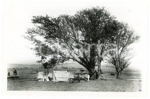 1918 BURUNDI - Le poste de KITEGA - Photo GOURDINNE REPRINT 1950
