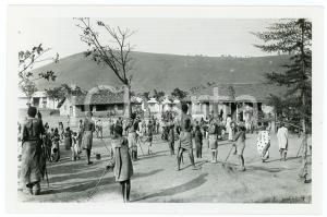 1918 RUANDA - KIGALI - La place du marché *Photo ANIMEE REPRINT 1950