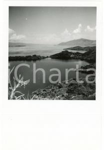 1946 CONGO BELGE - Lac KIVU - Promontoire - Photo E. LEBIED 12x18 cm