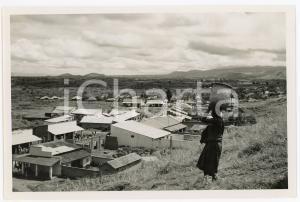1948 RUANDA - KISENYI - Quartier commercial et marché - Photo EEMAN 18x12
