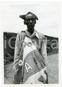 1950 ca RUANDA Vieil indigène MUTUTSI - Photo EEMAN 12x18 cm