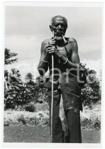 1948 RUANDA Région de KISENYI - Vieil indigène MUHUTU - Photo EEMAN 12x18 cm