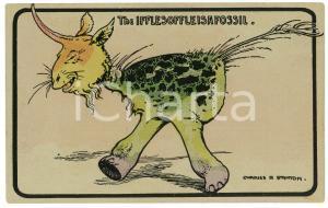 1912 FANTAZOOLOGY Artist Charles R. STANTON Ifflesoffleisafossil - Postcard FP