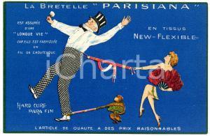 1910 SAINT-ETIENNE Etablissements STANDARD - Bretelle PARISIANA *Carte postale