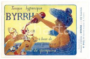 1910 ca BYRRH Tonique hygienique - Artist A. CADIOU - Carte Postale