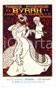 1910 ca BYRRH Tonique hygienique - Artist Georges BRUYER ^Carte Postale