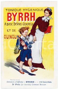 1910 ca BYRRH Tonique hygienique - Artist Cyprien BOULET - Carte Postale