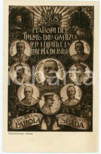 1916 ARTE Valerio FRANCO Vittoria Quadro *Cartolina postale FP VG