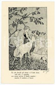 1915 WW1 Capre ai bimbi del TRENTINO Comitato dame emiliane romagnole *Cartolina