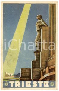 1925 ca ENIT - TRIESTE Cartolina illustrata FP NV