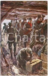 1917 WW1 Artista R. SALVADORI La Guerra Nostra - Cartolina FP VG