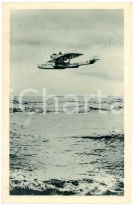 1920 ca NAVIGAZIONE AEREA Idrovolante DORNIER-WAL sul Mediterraneo - Cartolina