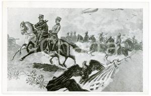 1920 ca ESERCITO ITALIANO Stato Maggiore- Cartolina ILLUSTRATA FP NV
