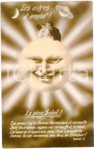 1910 ca LES ASTRES D'AMOUR En plein soleil - Carte postale ILLUSTRÉE FP NV