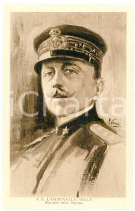 1915 ca GRANDE GUERRA Ammiraglio Leone VIALE Ministro della Marina - Cartolina