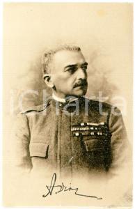 1915 ca WW1 Generale Carlo PORRO Sottocapo Stato Maggiore - Cartolina FP NV