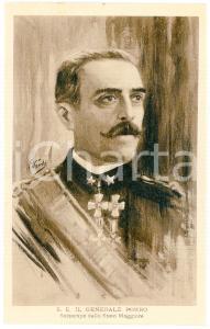 1915 ca GRANDE GUERRA Generale Carlo PORRO Sottocapo Stato Maggiore - Cartolina