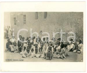 1910 ca Anglo-Egyptian SUDAN - Kuttab - Muslim school - Photo R. TÜRSTIG 10x12