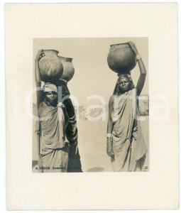 1910 ca Anglo-Egyptian SUDAN - Women carrying water - Photo R. TÜRSTIG