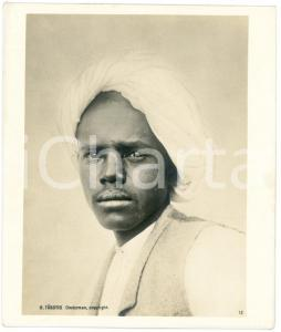 1910 ca Anglo-Egyptian SUDAN - KABABISH man - Portrait *Photo R. TÜRSTIG