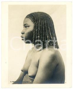 1910 ca Anglo-Egyptian SUDAN - Girl from DARFUR - Portrait *Photo R. TÜRSTIG