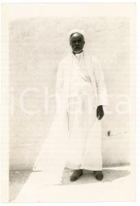 1920 ca ALGERIA Uomo in abiti tradizionali - Foto 9x13 cm