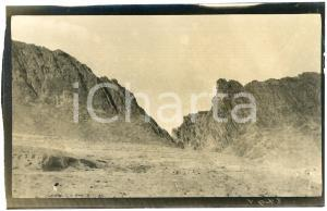 1920 ca ALGERIA - ASSEKREM - Montagne - Foto 14x9 cm