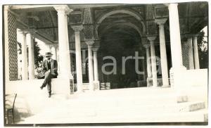 1920 ca ALGERIA - Cortile di palazzo arabo  - Foto ANIMATA 14x9 cm