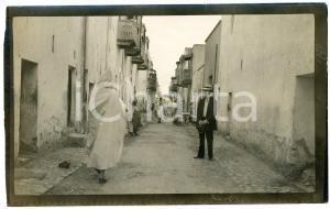 1920 ca BISKRA (ALGERIA) COSTUMI - Scena di strada (1) - Foto 14x9 cm